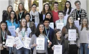 Die 18 Preisträger bei Eurolingua