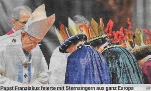 2018-1-1 Töfferl 3 Papst Sternsinger
